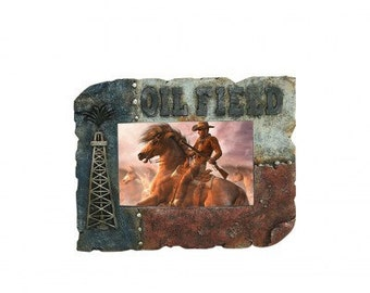 Oilfield picture frame