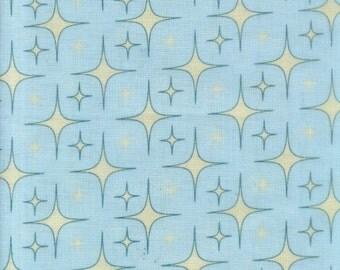 "Riley Blake - C3711 - Unicorn Glitter Aqua. ""Unicorns & Rainbows"" by Doohikey Designs - Cotton Woven Fabric"
