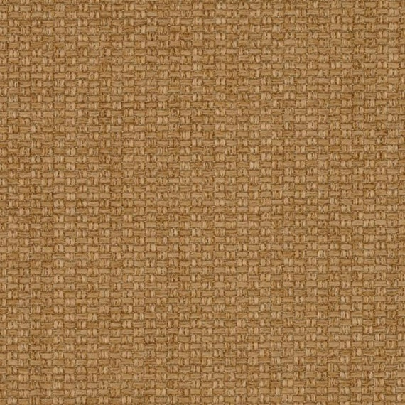 How To Weave A Basket From Fabric : Fine basket weave upholstery fabric in tan