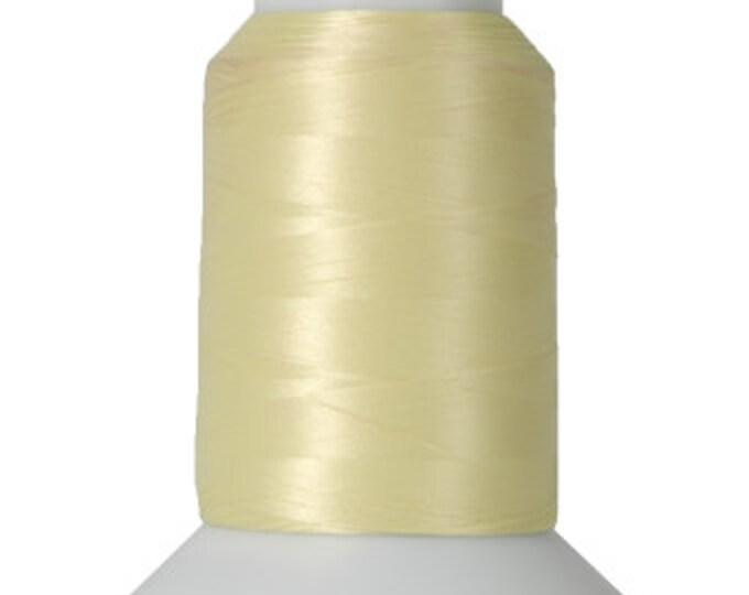 Thread Art - Wooly Nylon Thread - 1000m Spools - Pale Yellow  - SKU:THWL9191