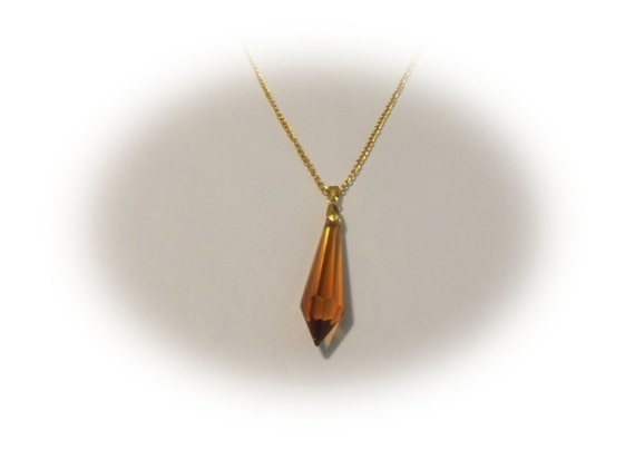 Gold Stone Necklace Jewelry for Women Gift