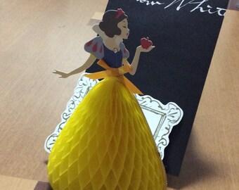 Disney Princess Snow White standing paper craft supplies