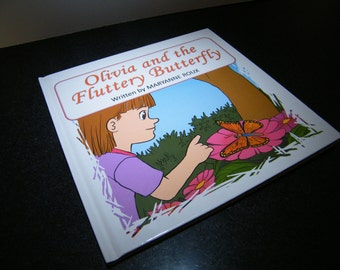 Childrens Book Monarch Butterfly Illustrated Childrens Book