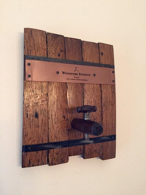 Wood Barrel Wall Decor : Kentucky bourbon whiskey barrel reclaimed wood sign wall art