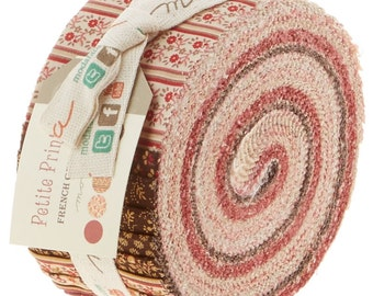 "Moda Jelly Roll ""Petite Prints"" by French General"