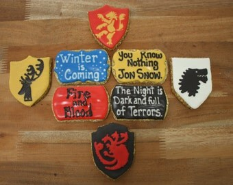 Game of Thrones Dog Treat Set