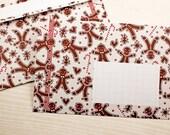 10 gingerbread envelopes DIN C6