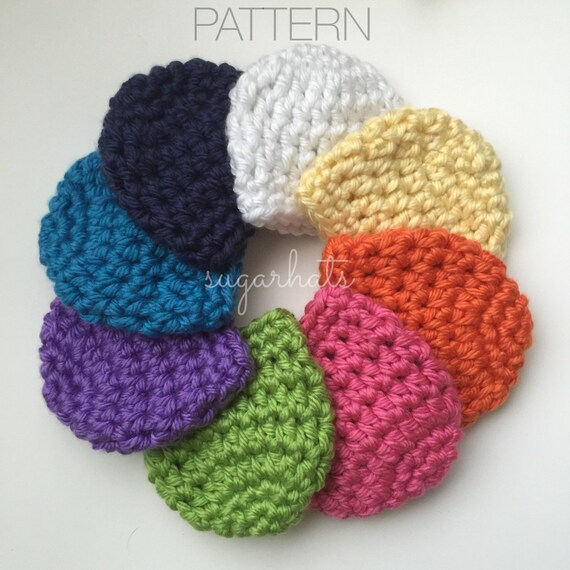 Items similar to Crochet Pattern - Baby Hat Pattern ...