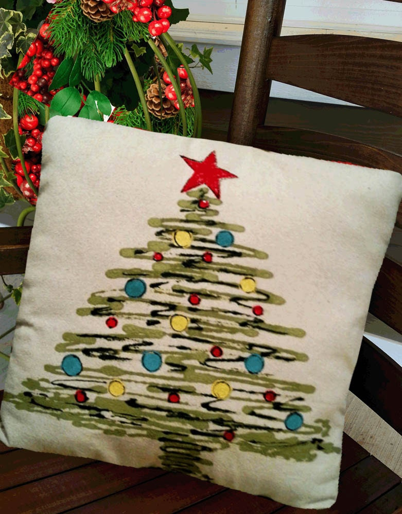 Christmas Tree Pillows Accent Pillows Indoor Outdoor