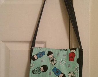 Geisha Girl Crossbody Purse