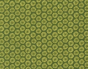 SALE!! 1/2 Yard - In the Bloom - AVW-15255-218 - Avocado - Valori Wells - Robert Kaufman Fabrics - Fabric Yardage