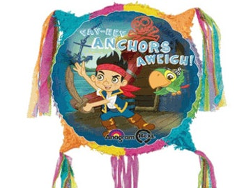 Jake In  the neverlands party pinata party supplies Free Ship