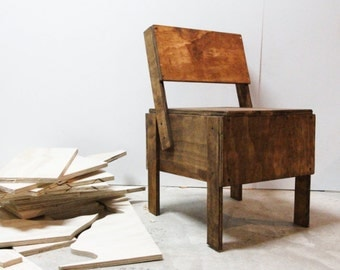 "The Enzo Chair, Hand-Made ""Autoprogettazione"" DIY Project"