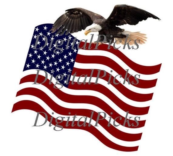 clip art american flag eagle - photo #28