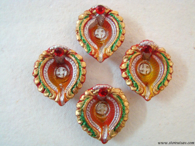 diya terracotta handmade home decor diwali wedding indian