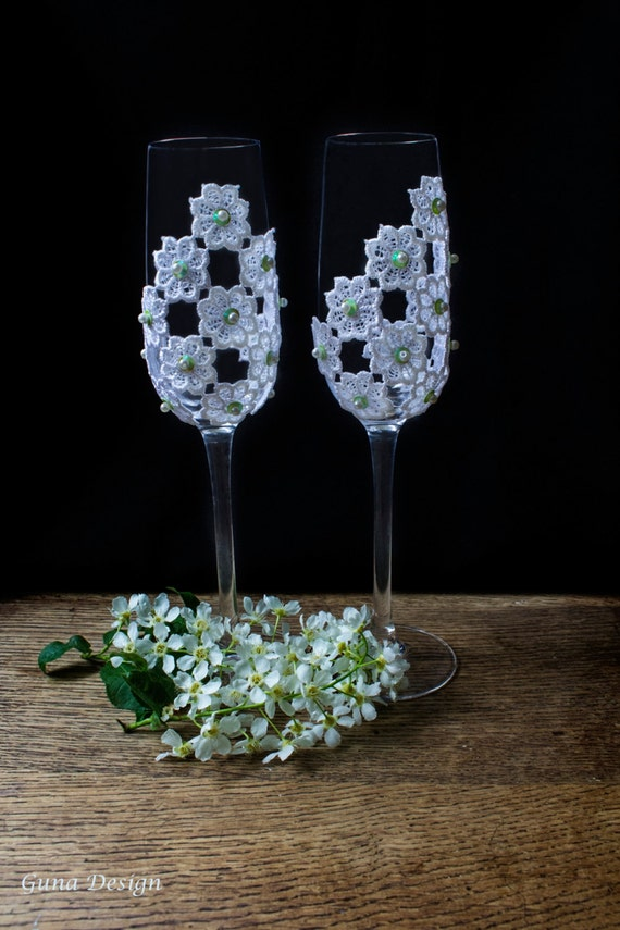 Wedding Toasting Champagne Glasses