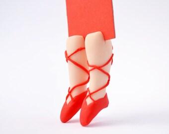 Ballerina legs Bookmark-Funny Bookmarks