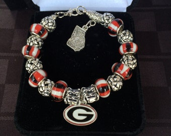 University of Georgia Bracelet