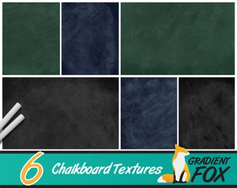 Digital Blackboard , Chalkboard Texture , Blackboard Paper , chalkboard scrapbook , chalk board digital - 6 Pack Instant Digital Download