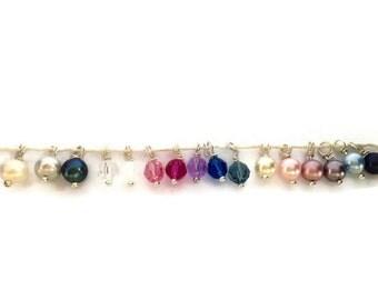 Pendant Crystal bead color choice