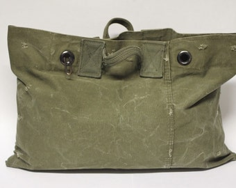 Hand-held Military Tote // Canvas