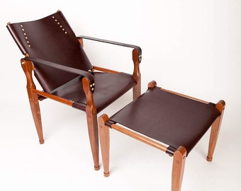 Rookhee Chair and matching ottoman