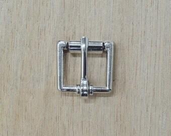 "Roller strap buckle 5/8"" x 3/4"" Nickel (10 pack) hardware - 49176"