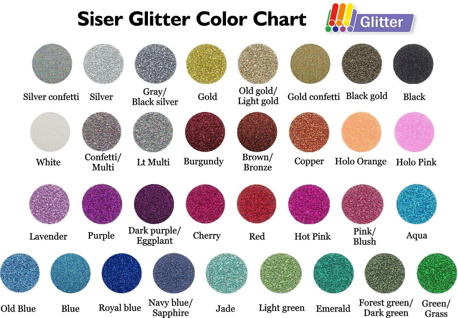 Design your own glitter t-shirt transfer kit