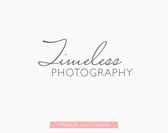 Premade Logo (Timeless Photography) - Logo Design, Graphic Design + Branding