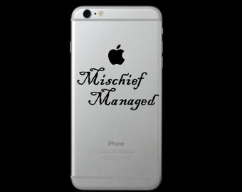 Mischief Managed (Harry Potter) Phone Decal