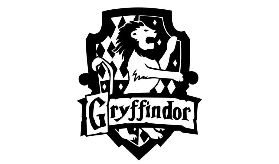 Gryffindor crest harry potter decal - Hogwarts decal ...