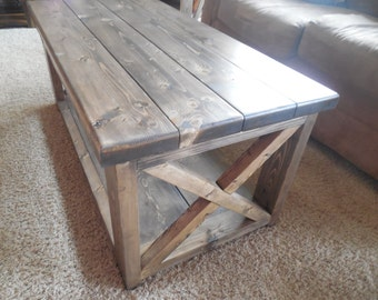 Marvelous Rustic Coffee Table | Etsy