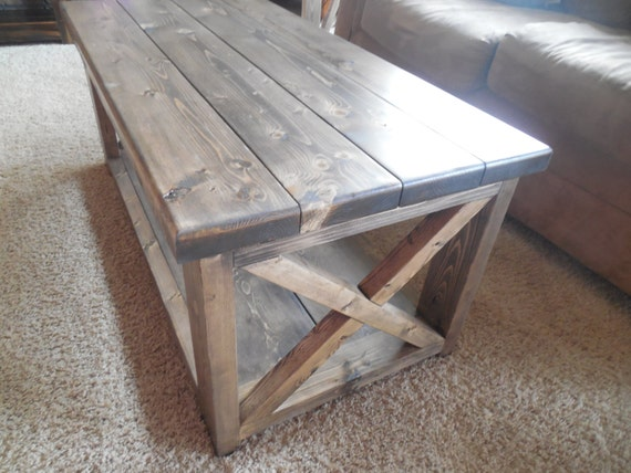 Rustic Coffee Table By CancerKiller On Etsy
