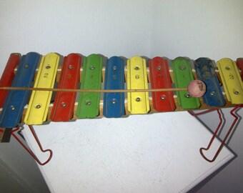 Vintage Xylophone Metallic