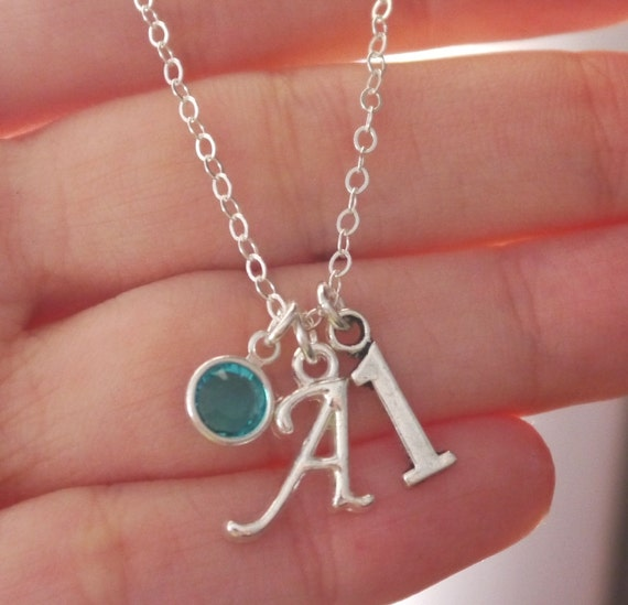 First Birthday Gifts For Girls One Charm Necklace By
