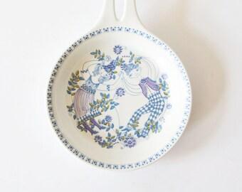 Vintage turi LOTTE Turi Design bowl plate Norway Scandinavian pottery handmade