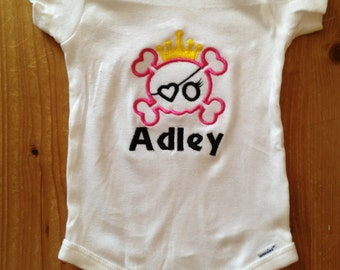 Pirate Princess Shirt or Baby Bodysuit