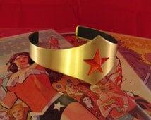 Wonder Woman Brass Tiara