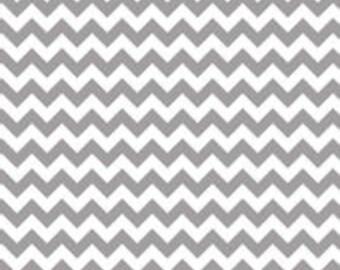 Gray Small Chevron, from Riley Blake Designs