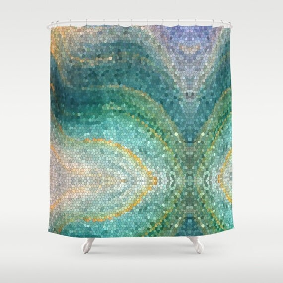 Mermaid Shower Curtain Artistic Shower Mermaid s