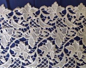 1 7/8 Yards Modern-made Bridal Venetian Lace