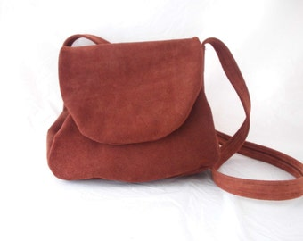 Small suede purse handbag with strap on sale!(CLEARANCE!)