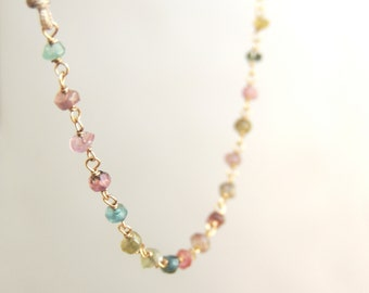 Rosary Tourmaline necklace