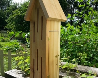 Handcrafted Cedar Butterfly House Country rustic