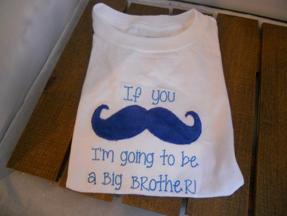 Birth announcement shirt for sibling by teetherstushiesmore for Big sister birth announcement shirts