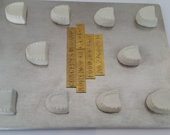 Dentures, Partial denture mints Chocolate Candy Mold 276 All Ocassion