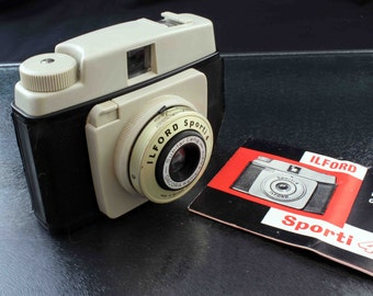 Vintage Ilford Sporti 4 127 Roll Film Camera