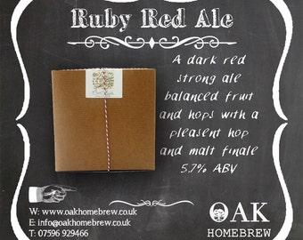Ruby Red beer kit