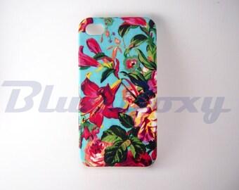 Hibiscus Flower iPhone 6 Case, iPhone 6s, iPhone 6 Plus, 6s Plus, iPhone 5, iPhone 5s, iPhone 4/4s Case, Phone Cover
