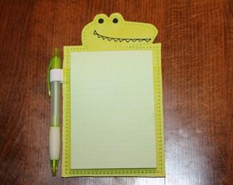 Alligator Notepad